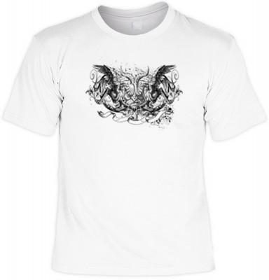 Gryphon-black mit der Artikel-Nr.: HK_Mot_02_12862-P10<b>Biker - Motiv T-Shirt</b><br><br><br><b><u>Angaben zum Produkt vom Hersteller:</u><br><br><b><i>Das Material ist 100% Baumwolle</b><b>Die Tshirts haben ein Schulter zu Schulter Nackenband für besser