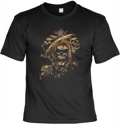 Top Qualität! HK_MTS_01_13160-P17 mit dem Motiv: <br><b>Totenkopf T-shirt: Skull Fb schwarz</b>,fällt sofort ins Auge und sorgt für einen gelungenen Auftritt.<br><br>T-shirt namenhafter Hersteller in bester Qualität, wie <b>Stedman</b> oder <b>Fruit of th