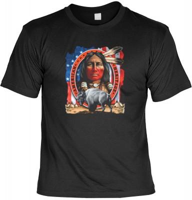 Top Qualität! HK_UCA_01_5841-P18 mit dem Motiv: <br /><b> Mythologie der Ureinwohner Nordamerikas T-Shirt American Heritage in schwarz </b>,fällt sofort ins Auge und sorgt für einen gelungenen Auftritt.<br /><br />T-shirt namenhafter Hersteller in bester