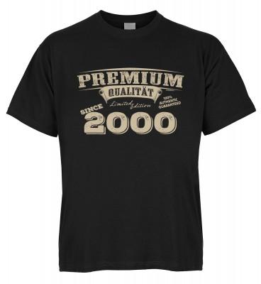 Premium Qualität since 2000 T-Shirt Bio-Baumwolle