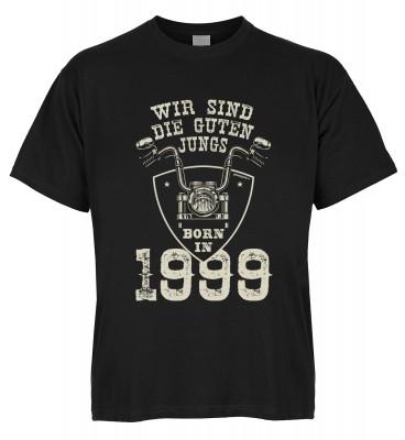 Wir sind die guten Jungs born in 1999 T-Shirt Bio-Baumwolle