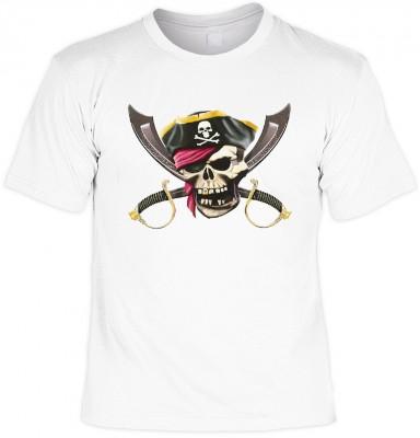 Jolly roger mit der Artikel-Nr.: HK_Mot_02_11519-P16<b>Biker - Motiv T-Shirt</b><br><br><br><b><u>Angaben zum Produkt vom Hersteller:</u><br><br><b><i>Das Material ist 100% Baumwolle</b><b>Die Tshirts haben ein Schulter zu Schulter Nackenband für besseren