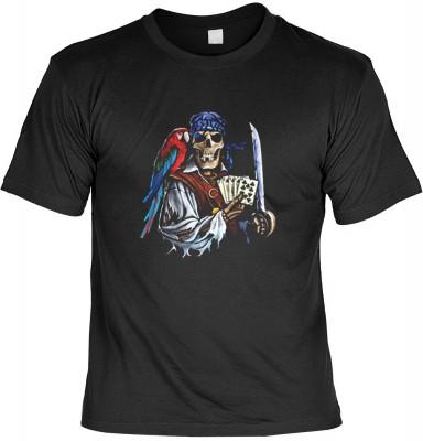 Top Qualität! HK_UCA_01_10271HD2 mit dem Motiv: <br><b>Freibeuter T-Shirt Dead Man&#39 s Hand in schwarz</b>,fällt sofort ins Auge und sorgt für einen gelungenen Auftritt.<br><br>T-shirt namenhafter Hersteller in bester Qualität, wie <b>Stedman</b> oder <