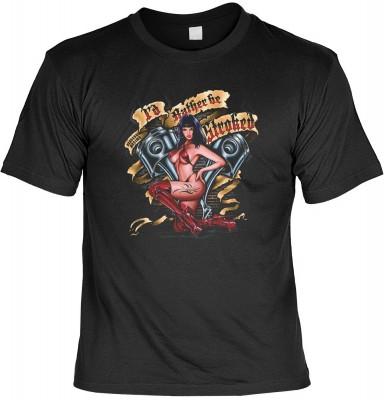I d rahter be stroked mit der Artikel-Nr.: HK_Mot_01_15114-P16<b>Biker - Motiv T-Shirt</b><br><br><br><b><u>Angaben zum Produkt vom Hersteller:</u><br><br><b><i>Das Material ist 100% Baumwolle</b><b>Die Tshirts haben ein Schulter zu Schulter Nackenband fü