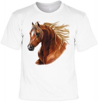 Top Qualität! HK_MTS_02_10825-P14 mit dem Motiv: <br><b>Pferde Tshirt Horse Fb weiß</b>,fällt sofort ins Auge und sorgt für einen gelungenen Auftritt.<br><br>T-shirt namenhafter Hersteller in bester Qualität, wie <b>Stedman</b> oder <b>Fruit of the Loom</