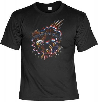 Top Qualität! HK_MTS_01_12052-P16 mit dem Motiv: <br><b>Eagle US Adler Motorrad T-shirt: Forever Wild Fb schwarz</b>,fällt sofort ins Auge und sorgt für einen gelungenen Auftritt.<br><br>T-shirt namenhafter Hersteller in bester Qualität, wie <b>Stedman</b