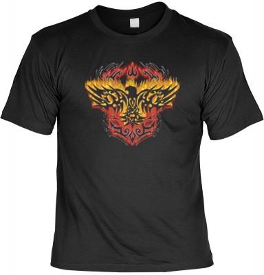 Top Qualität! <b> Mythologie der Ureinwohner Nordamerikas T-Shirt Thunderbird in schwarz </b>,fällt sofort ins Auge und sorgt für einen gelungenen Auftritt.<br /><br />T-shirt namenhafter Hersteller in bester Qualität. <b><b>Angenehme u. weiche Qualität a