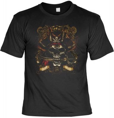 Top Qualität! HK_UCA_01_13301-P16 mit dem Motiv: <br><b>Freibeuter T-Shirt Bonehead in schwarz</b>,fällt sofort ins Auge und sorgt für einen gelungenen Auftritt.<br><br>T-shirt namenhafter Hersteller in bester Qualität, wie <b>Stedman</b> oder <b>Fruit of