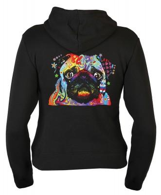 <p>Faszinierende Neon Motive wirken leuchtend, ob zur Party, Freizeit, Disco, immer wieder passend</p>Cooler Damen Design Hoodie, sehr weich und flauschiger Kapuzen Sweater,das Material ist 70% Baumwolle und 30% Polyester, das Stoffgewicht beträgt 280 g/q
