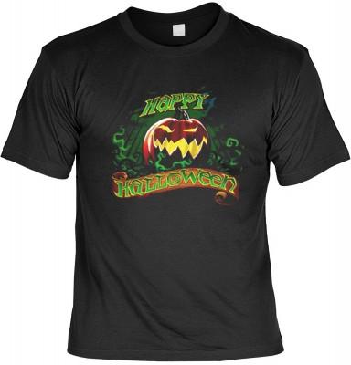 Top Qualität! HK_MTS_01_15413D1 mit dem Motiv: <br><b>Halloween Grusel Tshirt Happy Halloween Fb schwarz</b>,fällt sofort ins Auge und sorgt für einen gelungenen Auftritt.<br><br>T-shirt namenhafter Hersteller in bester Qualität, wie <b>Stedman</b> oder <