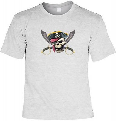 Jolly roger mit der Artikel-Nr.: HK_Mot_07_11519-P16<b>Biker - Motiv T-Shirt</b><br><br><br><b><u>Angaben zum Produkt vom Hersteller:</u><br><br><b><i>Das Material ist 100% Baumwolle</b><b>Die Tshirts haben ein Schulter zu Schulter Nackenband für besseren
