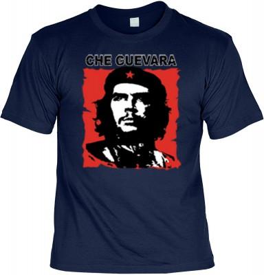 Top Qualität! HK_UCA_05_11211-P16 mit dem Motiv: <br><b>Revolution T-Shirt Che Guevara in navy blau</b>,fällt sofort ins Auge und sorgt für einen gelungenen Auftritt.<br><br>T-shirt namenhafter Hersteller in bester Qualität, wie <b>Stedman</b> oder <b>Fru