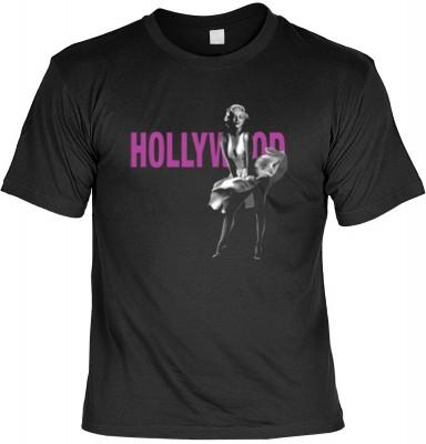 Top Qualität! HK_USA_01_13629-P14 mit dem Motiv: <br><b>Monroe T-Shirt Hollywood Marilyn Fb schwarz auch in 3xL 4xL 5xL</b>,fällt sofort ins Auge und sorgt für einen gelungenen Auftritt.<br><br>T-shirt namenhafter Hersteller in bester Qualität, wie <b>Ste