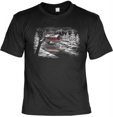 Top Qualität! HK_MTS_01_12117-P10 mit dem Motiv: <br><b>Weihnachten Fun Tshirt Winterlandschaft Fb schwarz</b>,fällt sofort ins Auge und sorgt für einen gelungenen Auftritt.<br><br>T-shirt namenhafter Hersteller in bester Qualität, wie <b>Stedman</b> oder