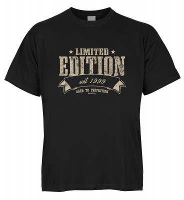 Limited Edition seit 1999 aged to perfection T-Shirt Bio-Baumwolle
