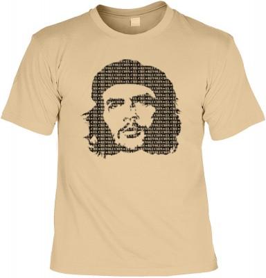Top Qualität! HK_UCA_14_12105-P8 mit dem Motiv: <br><b>Revolution T-Shirt Che Guevara in sand</b>,fällt sofort ins Auge und sorgt für einen gelungenen Auftritt.<br><br>T-shirt namenhafter Hersteller in bester Qualität, wie <b>Stedman</b> oder <b>Fruit of