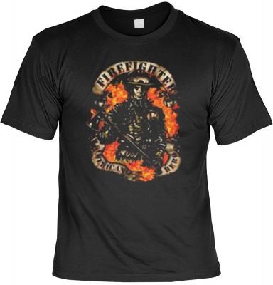 Top Qualität! HK_MTS_01_13306-P16 mit dem Motiv: <br><b>Feuerwehr Emergency T-shirt: Firefighter Fb schwarz</b>,fällt sofort ins Auge und sorgt für einen gelungenen Auftritt.<br><br>T-shirt namenhafter Hersteller in bester Qualität, wie <b>Stedman</b> ode
