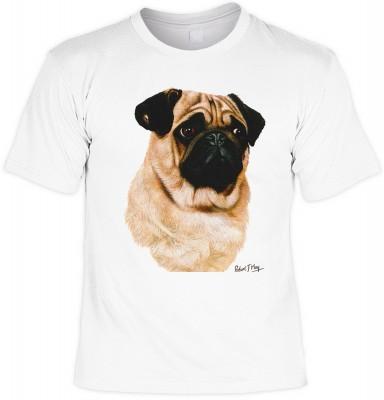 Pug, black & tan mit der Artikel-Nr.: HK_Mot_02_13755-P16<b>Biker - Motiv T-Shirt</b><br><br><br><b><u>Angaben zum Produkt vom Hersteller:</u><br><br><b><i>Das Material ist 100% Baumwolle</b><b>Die Tshirts haben ein Schulter zu Schulter Nackenband für bes