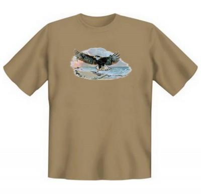 Top Qualität! HK_UCA_14_08258A2 mit dem Motiv: <br><b>Mythologie der Ureinwohner Nordamerikas T-Shirt Of Man and Nature II in sand</b>,fällt sofort ins Auge und sorgt für einen gelungenen Auftritt.<br><br>T-shirt namenhafter Hersteller in bester Qualität,