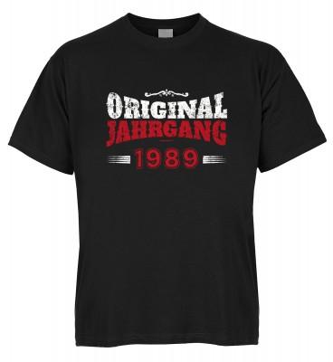 Original Jahrgang 1989 T-Shirt Bio-Baumwolle