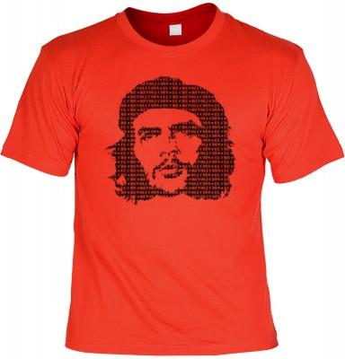 Top Qualität! HK_UCA_03_12105-P8 mit dem Motiv: <br><b>Revolution T-Shirt Che Guevara in rot</b>,fällt sofort ins Auge und sorgt für einen gelungenen Auftritt.<br><br>T-shirt namenhafter Hersteller in bester Qualität, wie <b>Stedman</b> oder <b>Fruit of t