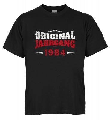 Original Jahrgang 1984 T-Shirt Bio-Baumwolle