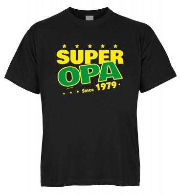 Super Opa since 1979 T-Shirt Bio-Baumwolle