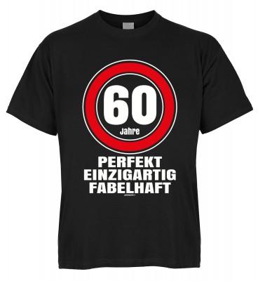 60 Jahre perfekt einzigartig fabelhaft T-Shirt Bio-Baumwolle