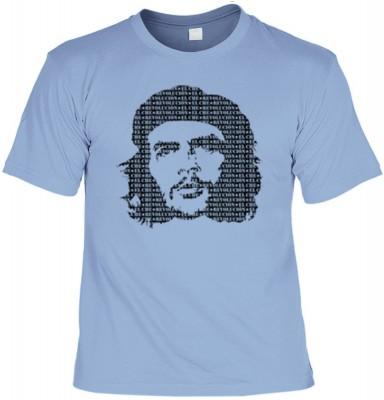 Top Qualität! HK_UCA_15_12105-P8 mit dem Motiv: <br><b>Revolution T-Shirt Che Guevara in skyblau</b>,fällt sofort ins Auge und sorgt für einen gelungenen Auftritt.<br><br>T-shirt namenhafter Hersteller in bester Qualität, wie <b>Stedman</b> oder <b>Fruit