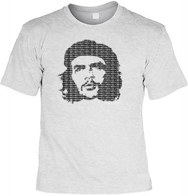 Top Qualität! HK_UCA_07_12105-P8 mit dem Motiv: <br><b>Revolution T-Shirt Che Guevara in grau</b>,fällt sofort ins Auge und sorgt für einen gelungenen Auftritt.<br><br>T-shirt namenhafter Hersteller in bester Qualität, wie <b>Stedman</b> oder <b>Fruit of