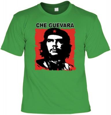 Top Qualität! HK_UCA_16_11211-P16 mit dem Motiv: <br><b>Revolution T-Shirt Che Guevara in hell-grün</b>,fällt sofort ins Auge und sorgt für einen gelungenen Auftritt.<br><br>T-shirt namenhafter Hersteller in bester Qualität, wie <b>Stedman</b> oder <b>Fru