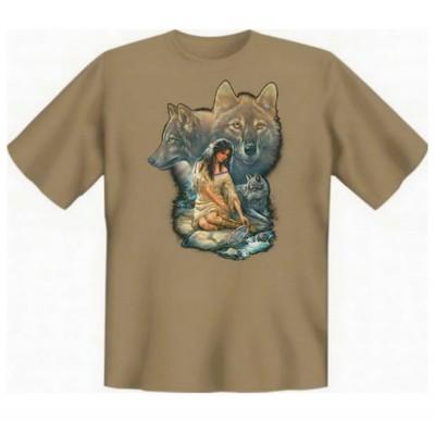 Top Qualität! HK_UCA_14_10954HL2 mit dem Motiv: <br><b>Mythologie der Ureinwohner Nordamerikas T-Shirt Die Vision in sand</b>,fällt sofort ins Auge und sorgt für einen gelungenen Auftritt.<br><br>T-shirt namenhafter Hersteller in bester Qualität, wie <b>S