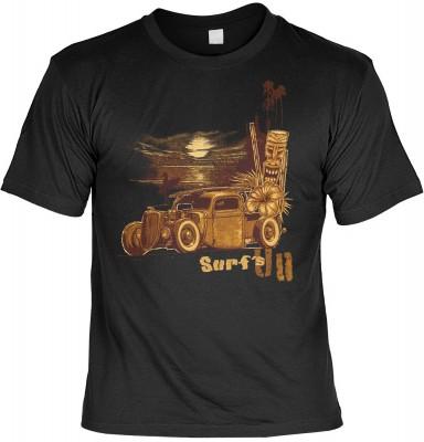 Surf´s up mit der Artikel-Nr.: HK_Mot_01_15004-P16<b>Biker - Motiv T-Shirt</b><br><br><br><b><u>Angaben zum Produkt vom Hersteller:</u><br><br><b><i>Das Material ist 100% Baumwolle</b><b>Die Tshirts haben ein Schulter zu Schulter Nackenband für besseren T