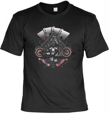 Top Qualität! HK_USA_01_13635-P16 mit dem Motiv: <br><b>Motorradfahrer T-Shirt Let it Ride Fb schwarz auch in 3xL 4xL 5xL</b>,fällt sofort ins Auge und sorgt für einen gelungenen Auftritt.<br><br>T-shirt namenhafter Hersteller in bester Qualität, wie <b>S