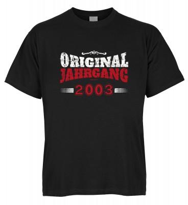 Original Jahrgang 2003 T-Shirt Bio-Baumwolle