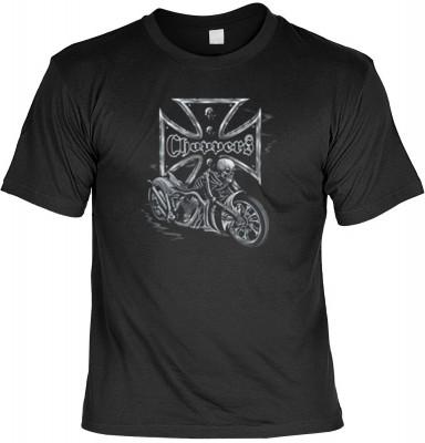 Top Qualität! HK_USA_01_11292-P13 mit dem Motiv: <br><b>Motorradfahrer T-Shirt Bikers Cross - Choppers Fb schwarz auch in 3xL 4xL 5xL</b>,fällt sofort ins Auge und sorgt für einen gelungenen Auftritt.<br><br>T-shirt namenhafter Hersteller in bester Qualit