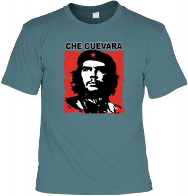 Top Qualität! HK_UCA_21_11211-P16 mit dem Motiv: <br /><b> Revolution T-Shirt Che Guevara in stahlblau </b>,fällt sofort ins Auge und sorgt für einen gelungenen Auftritt.<br /><br />T-shirt namenhafter Hersteller in bester Qualität, wie <b>Stedman</b> ode