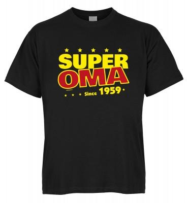 Super Oma since 1959 T-Shirt Bio-Baumwolle