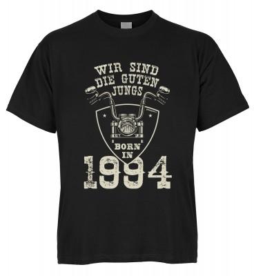 Wir sind die guten Jungs born in 1994 T-Shirt Bio-Baumwolle