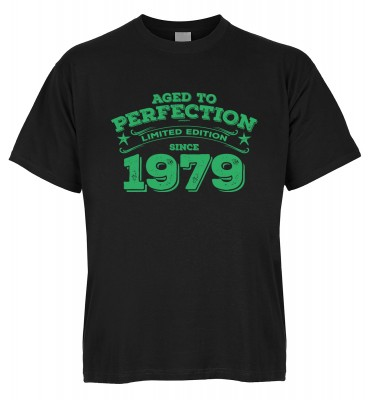 Aged to perfection Limited Edition since 1979 T-Shirt Bio-Baumwolle