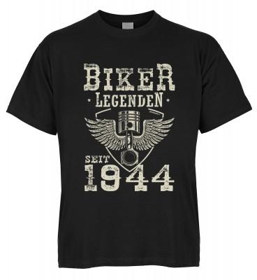 Biker Legenden seit 1944 T-Shirt Bio-Baumwolle