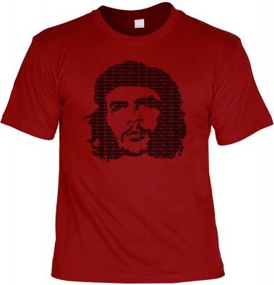 Top Qualität! HK_UCA_22_12105-P8 mit dem Motiv: <br><b>Revolution T-Shirt Che Guevara in dunkelrot</b>,fällt sofort ins Auge und sorgt für einen gelungenen Auftritt.<br><br>T-shirt namenhafter Hersteller in bester Qualität, wie <b>Stedman</b> oder <b>Frui