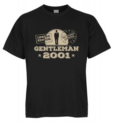 Limited Edition Gentleman 2001 T-Shirt Bio-Baumwolle