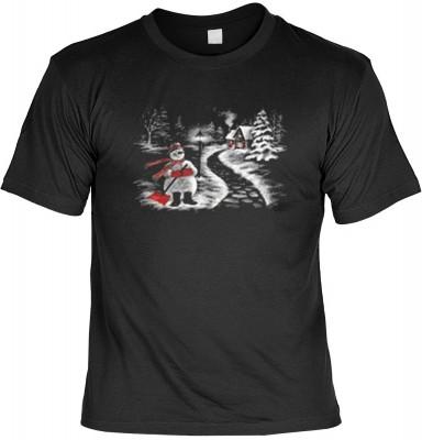 Top Qualität! HK_MTS_01_12116-P10 mit dem Motiv: <br><b>Weihnachten Fun Tshirt Winterlandschaft Fb schwarz</b>,fällt sofort ins Auge und sorgt für einen gelungenen Auftritt.<br><br>T-shirt namenhafter Hersteller in bester Qualität, wie <b>Stedman</b> oder