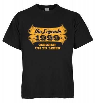 Die Legende 1999 geboren um zu leben T-Shirt Bio-Baumwolle