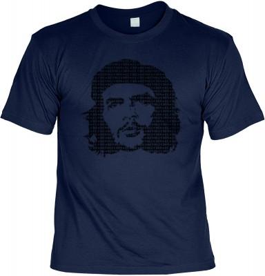 Top Qualität! HK_UCA_05_12105-P8 mit dem Motiv: <br><b>Revolution T-Shirt Che Guevara in navy blau</b>,fällt sofort ins Auge und sorgt für einen gelungenen Auftritt.<br><br>T-shirt namenhafter Hersteller in bester Qualität, wie <b>Stedman</b> oder <b>Frui