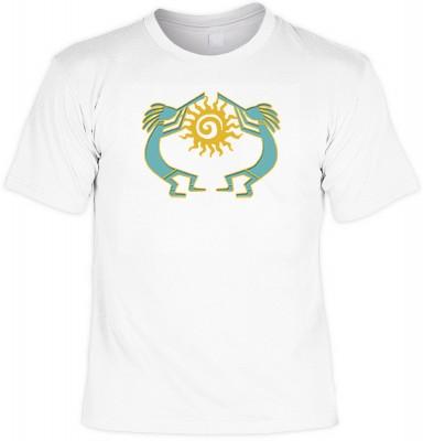 <p>Dieses T-shirt ist etwas f&uuml r Menschen</p><p>die sich f&uuml r Indianer und deren Kultur interressieren.</p>