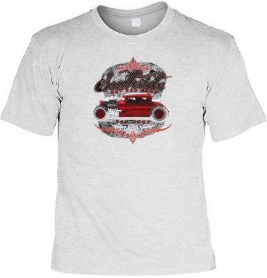 Southside hot rod shop mit der Artikel-Nr.: HK_Mot_07_15908-P15<b>Biker - Motiv T-Shirt</b><br><br><br><b><u>Angaben zum Produkt vom Hersteller:</u><br><br><b><i>Das Material ist 100% Baumwolle</b><b>Die Tshirts haben ein Schulter zu Schulter Nackenband f