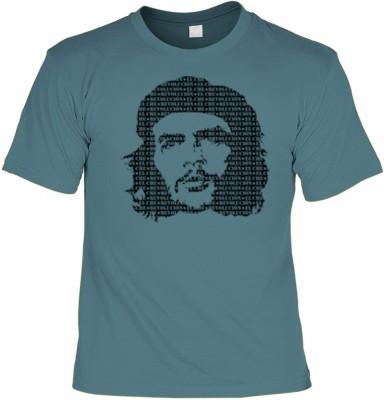 Top Qualität! HK_UCA_21_12105-P8 mit dem Motiv: <br /><b> Revolution T-Shirt Che Guevara in stahlblau </b>,fällt sofort ins Auge und sorgt für einen gelungenen Auftritt.<br /><br />T-shirt namenhafter Hersteller in bester Qualität, wie <b>Stedman</b> oder