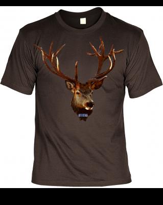 Hirsch T-Shirt für Jäger